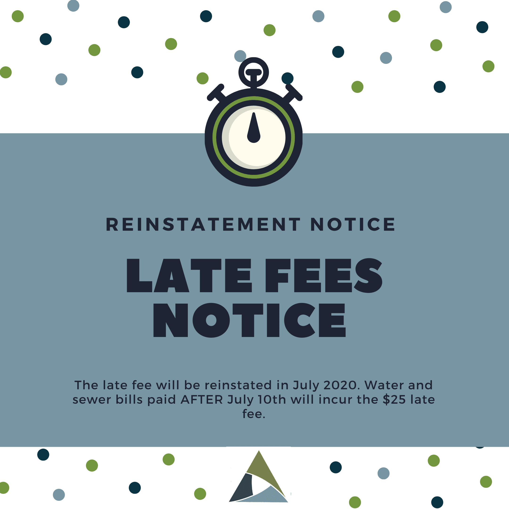 Late Fee Reinstatement