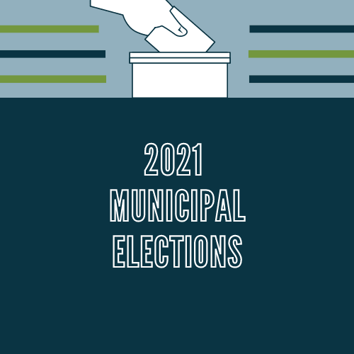 2021 Municipal Elections Graphic